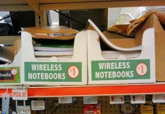 Wireless Notebooks, can't argue with that price!